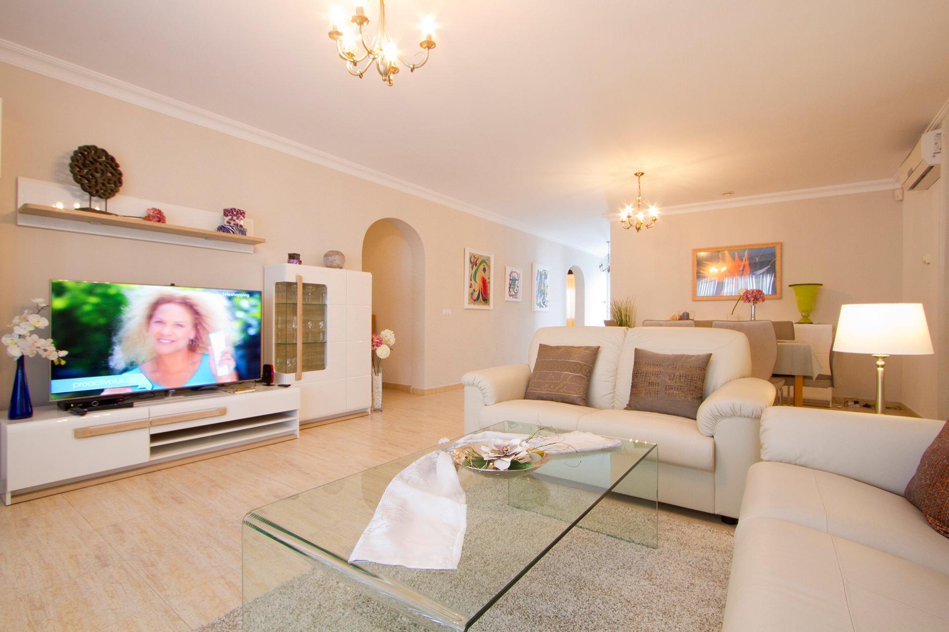 Ferienhaus Lanzarote Wohnzimmer