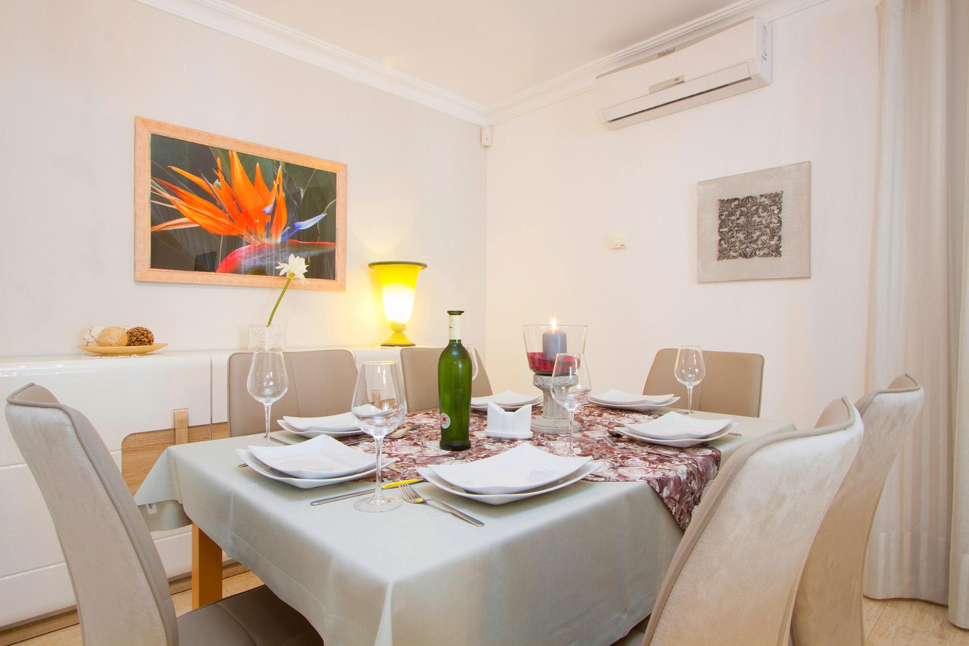 Ferienhaus Lanzarote Esszimmer
