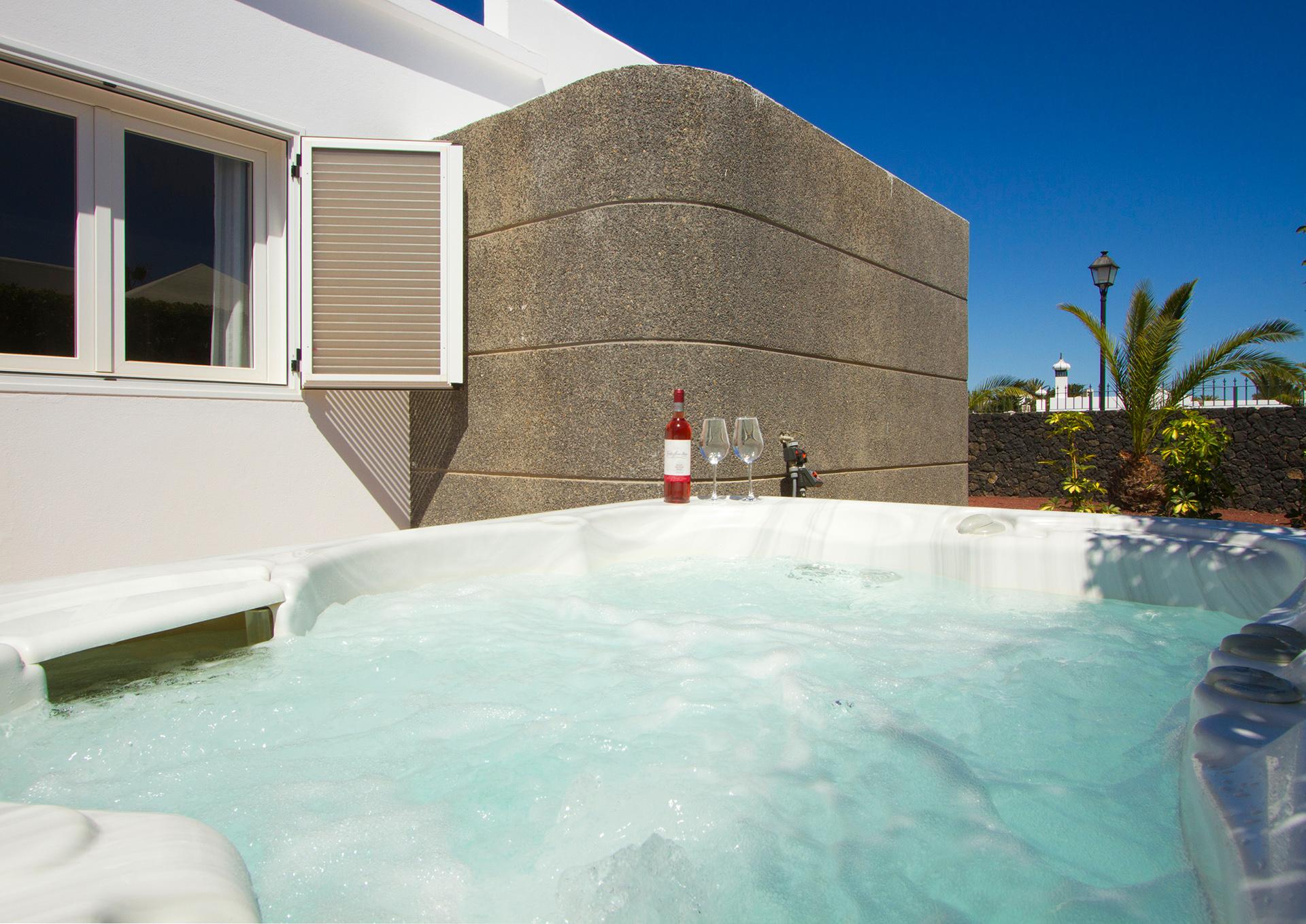 Ferienhaus Lanzarote Whirlpool