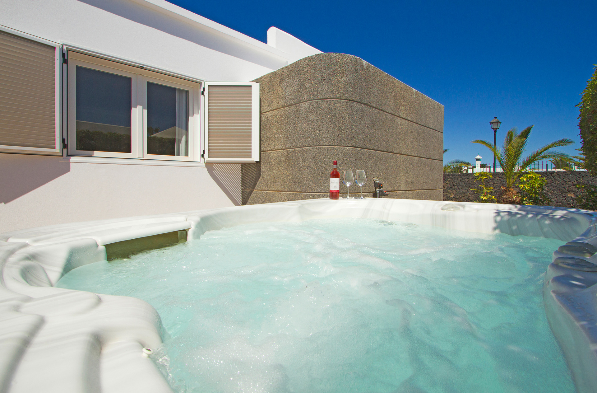 Ferienhaus Lanzarote Whirlpool 1