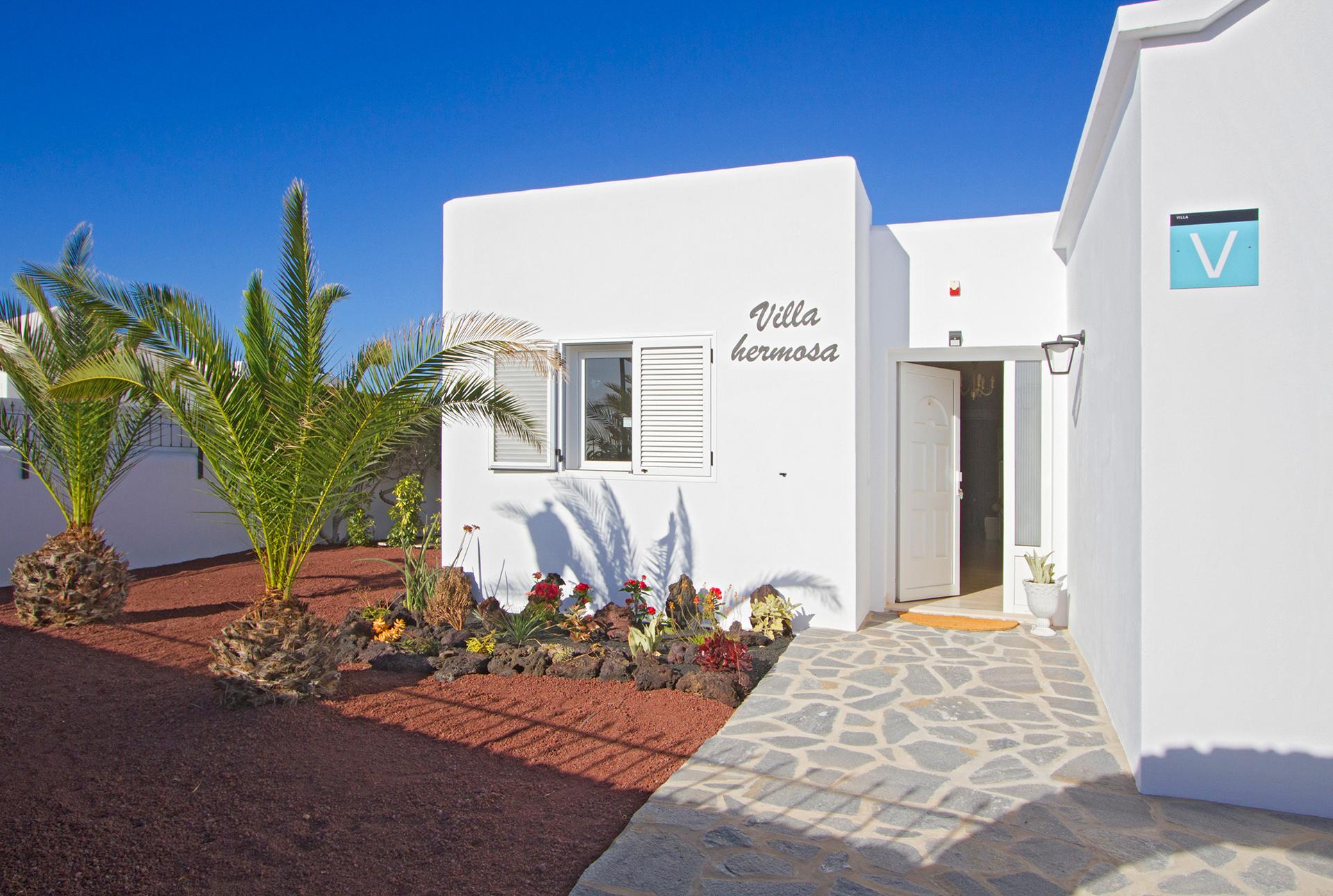 Ferienhaus Lanzarote Eingangsbereich